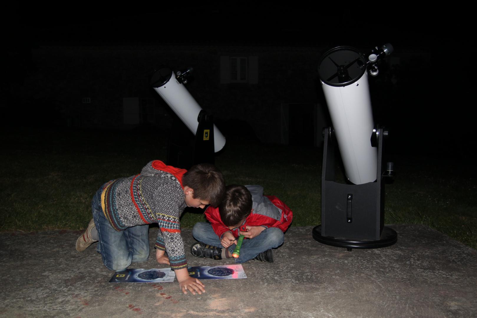 Séjour enfant  / Astronomie