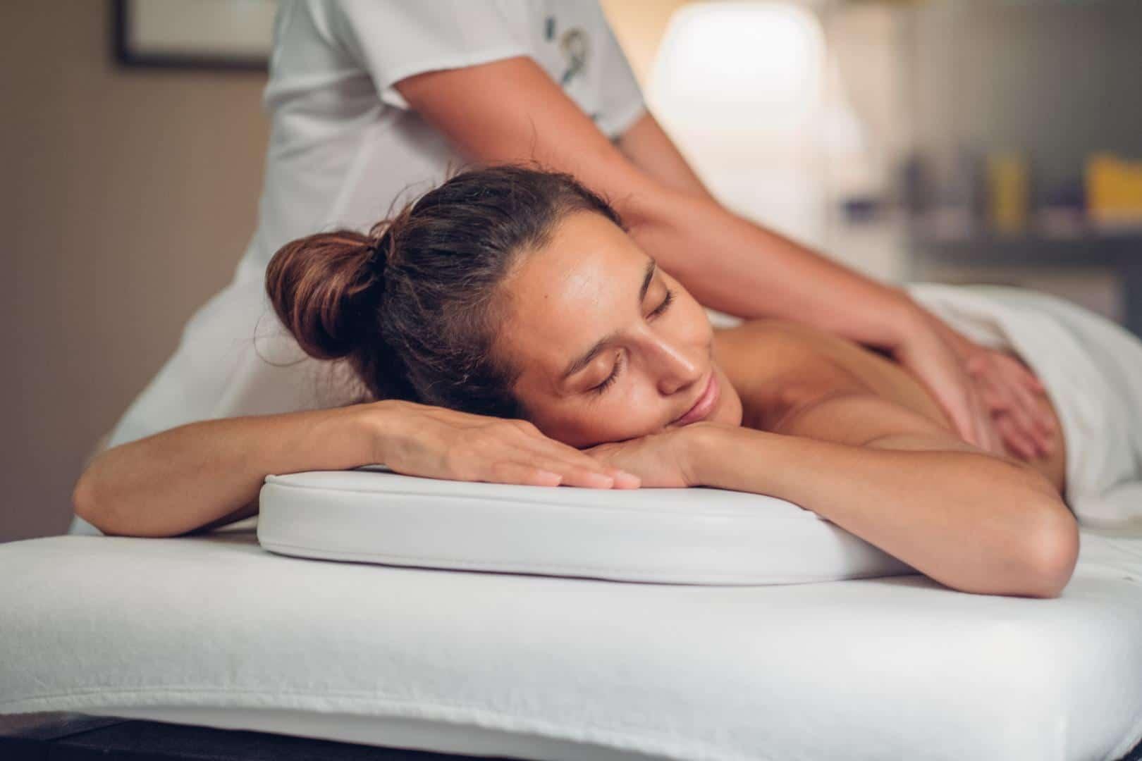 Bien-etre-gers- massage d'une patiente