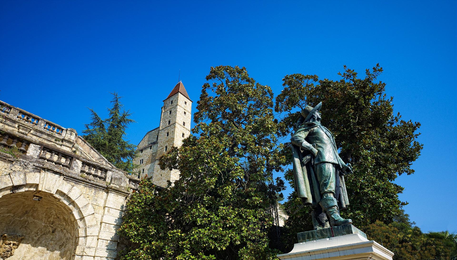 Statue d'Artagnan - Auch-centre historique