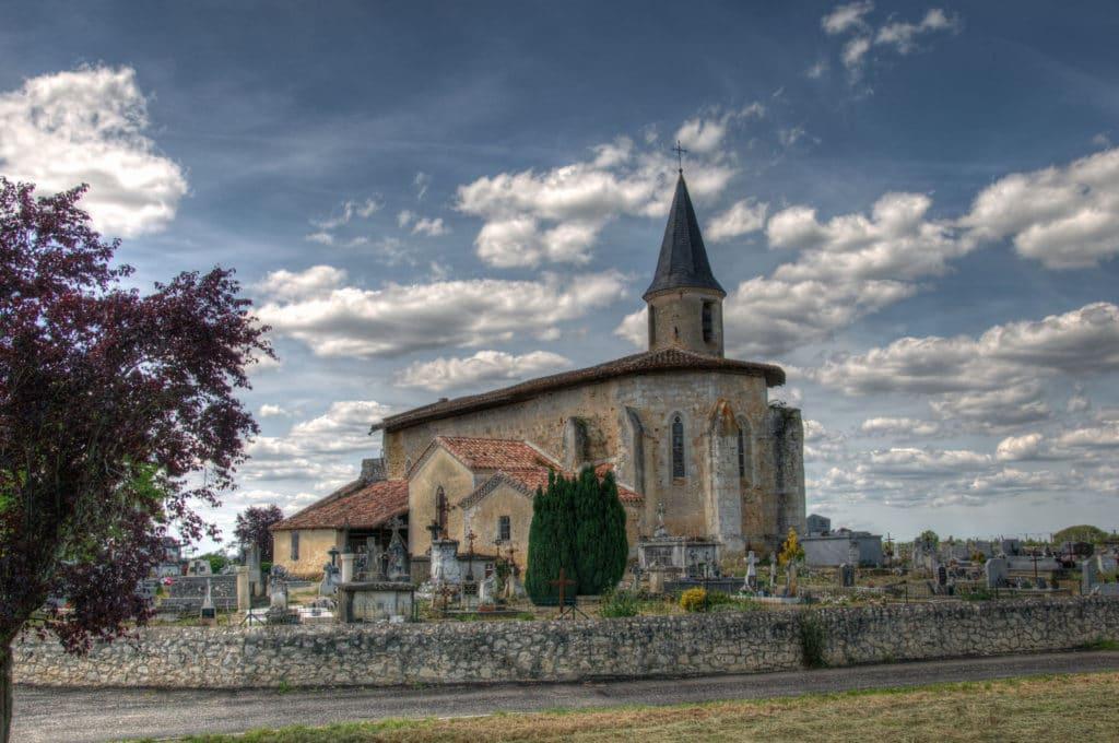 Eglise-arech-castelnau-d-auzan Gers