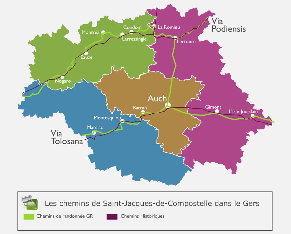 Chemin-de-Saint-Jacques-de-compostelle-Gers