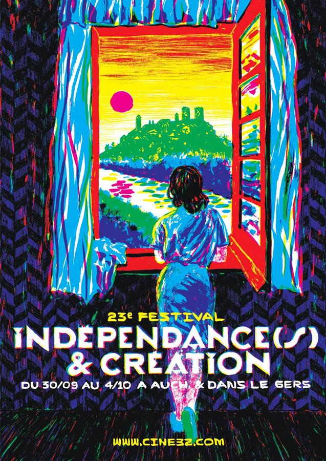 festival-cinema-independance-creation-auch-Gers-affiche