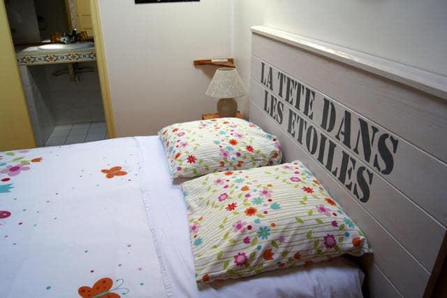 Maison d'hôtes Gîtes de France -La-ferme-des-etoiles-Mouroux Gers - chambre double