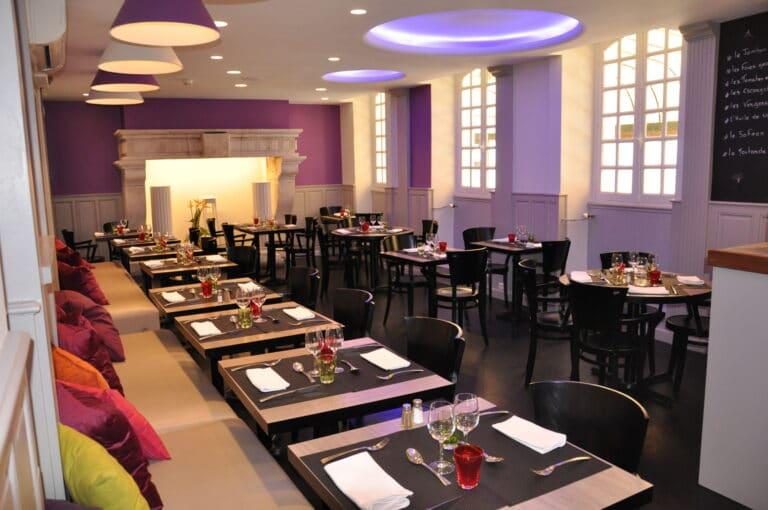 Hotel-france-Auch-Gers-Restaurant le9eme-salle