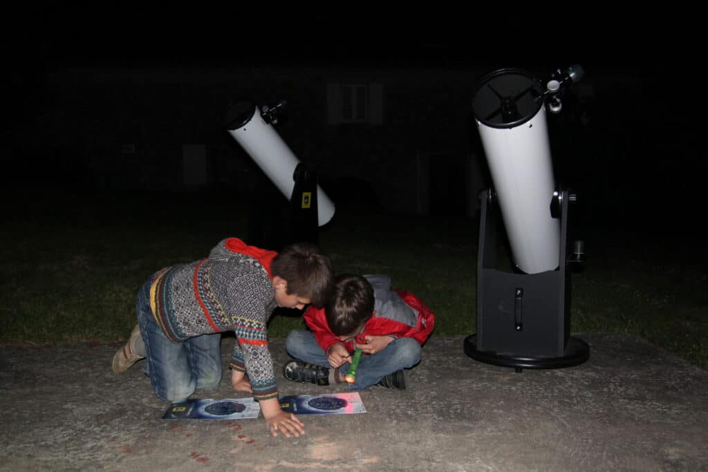 stage enfant-astronomie-gers