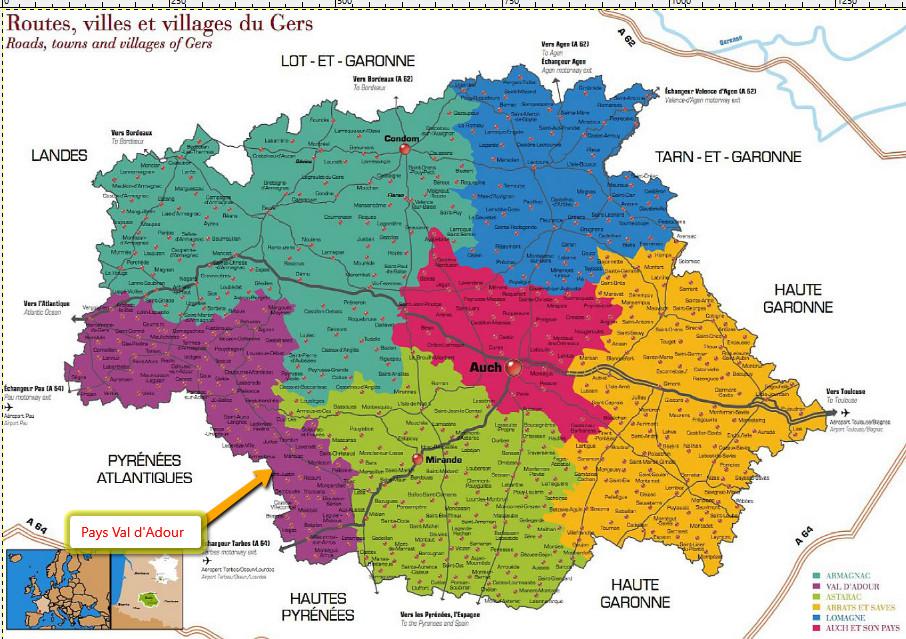 Marciac en Pays val d'Adour Gers