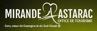 Office de tourisme de Mirande logo
