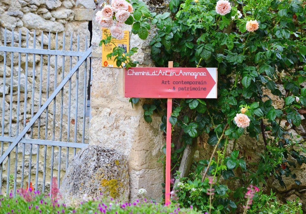 Chemin-d-art-en-armagnac-panneau
