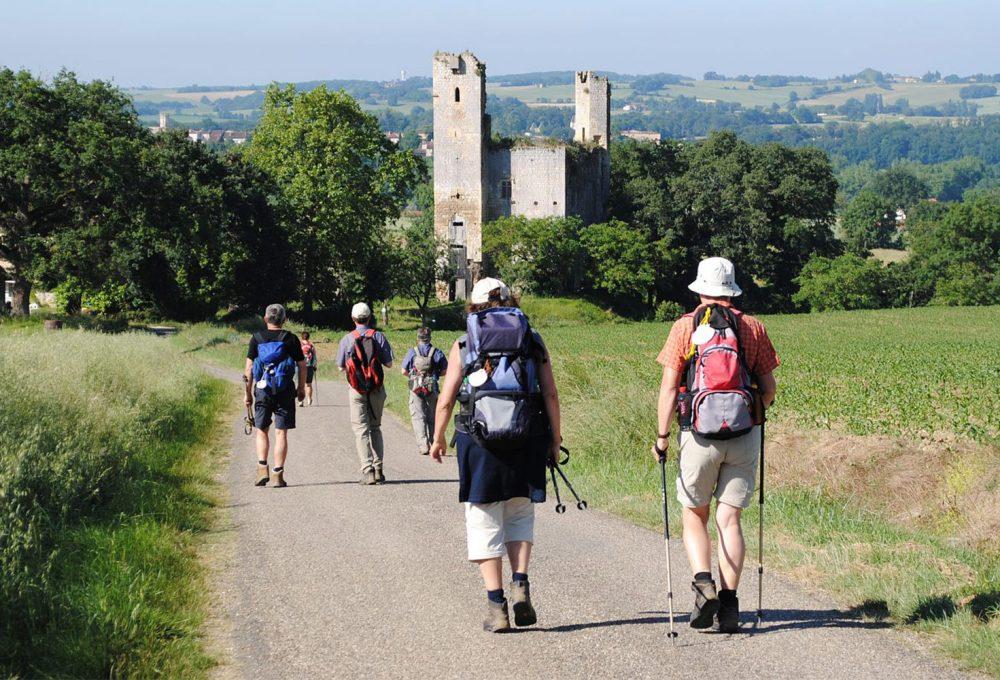 locations-de vacances près-chemin-randonnée-Gers