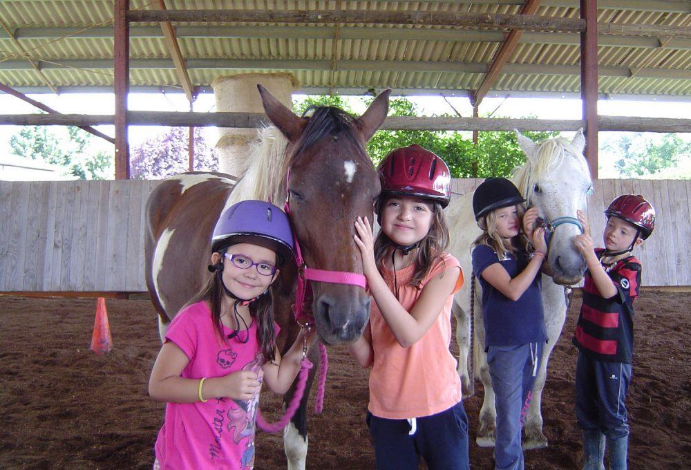En-scene-les-poneys-stage équitation gers